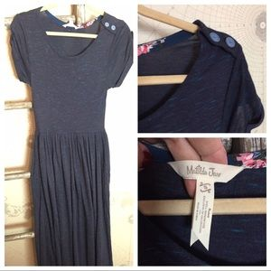 Matilda Jane Dresses - Matilda Jane Deep Water Maxi Dress S EUC
